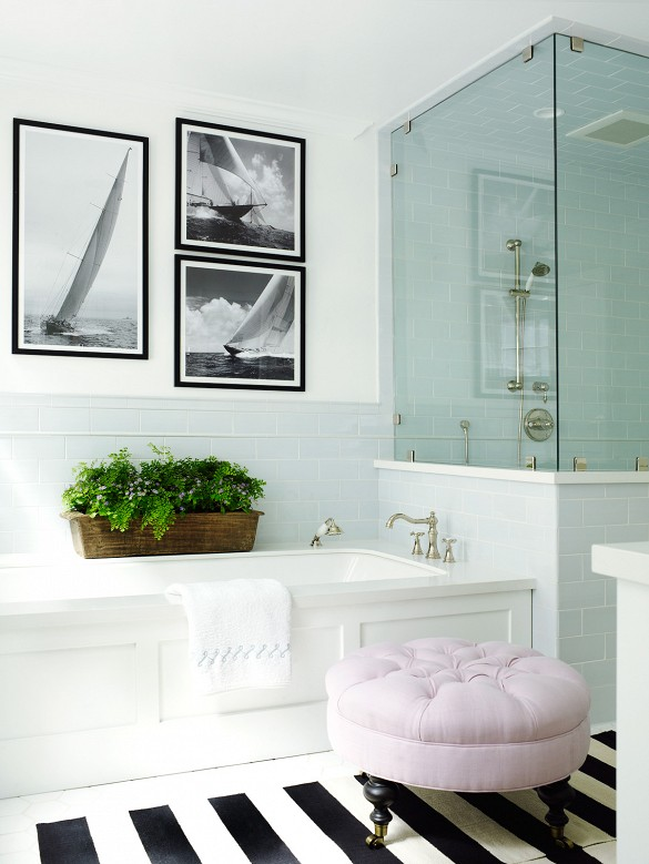 Feminine Bathroom - 204 Park