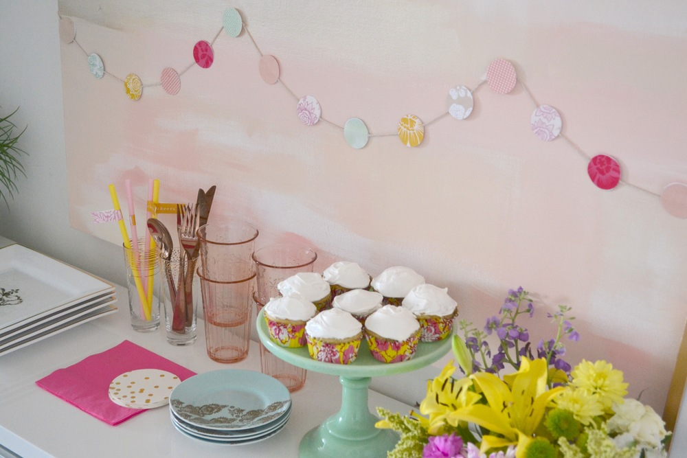 spring party decor
