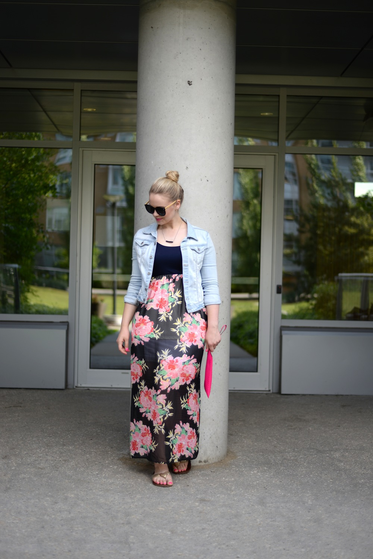 summer maxi dress fashion