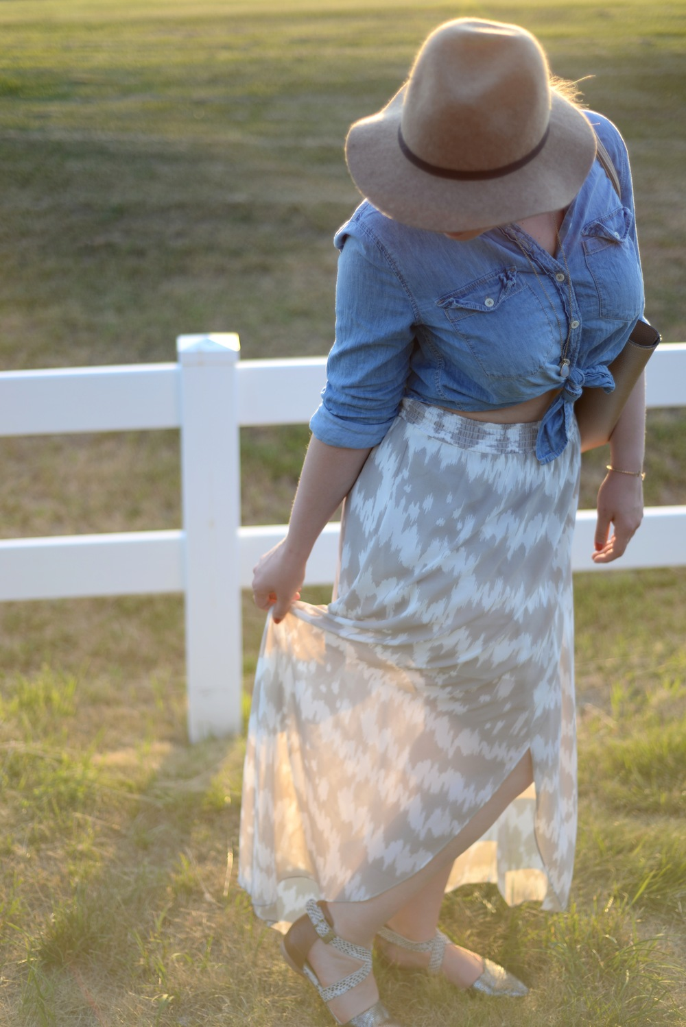 gentle fawn skirt fashion