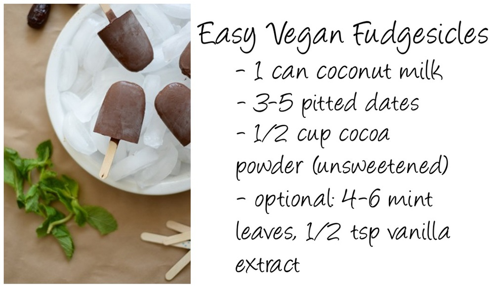 Vegan, vegan recipe, vegan fudgesicles, healthy, healthy recipe, vegan recipe, Edmonton food, Edmonton food blog, vegan dessert, healthy dessert, homemade fudgesicles, Canadian lifestyle blog, lifestyle blog