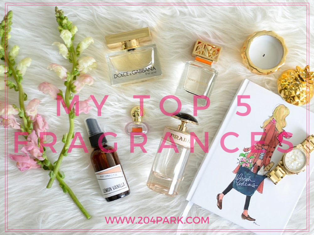 best 5 fragrances, beauty blog