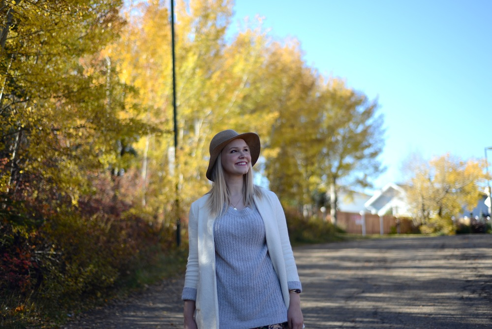 gentle fawn knit sweater