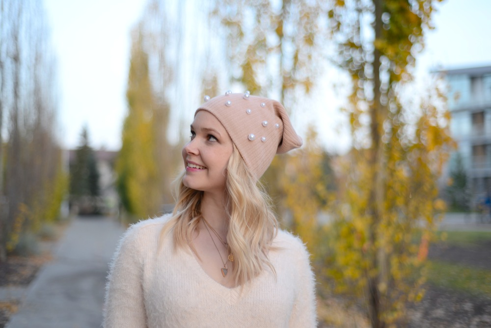pearl toque DIY