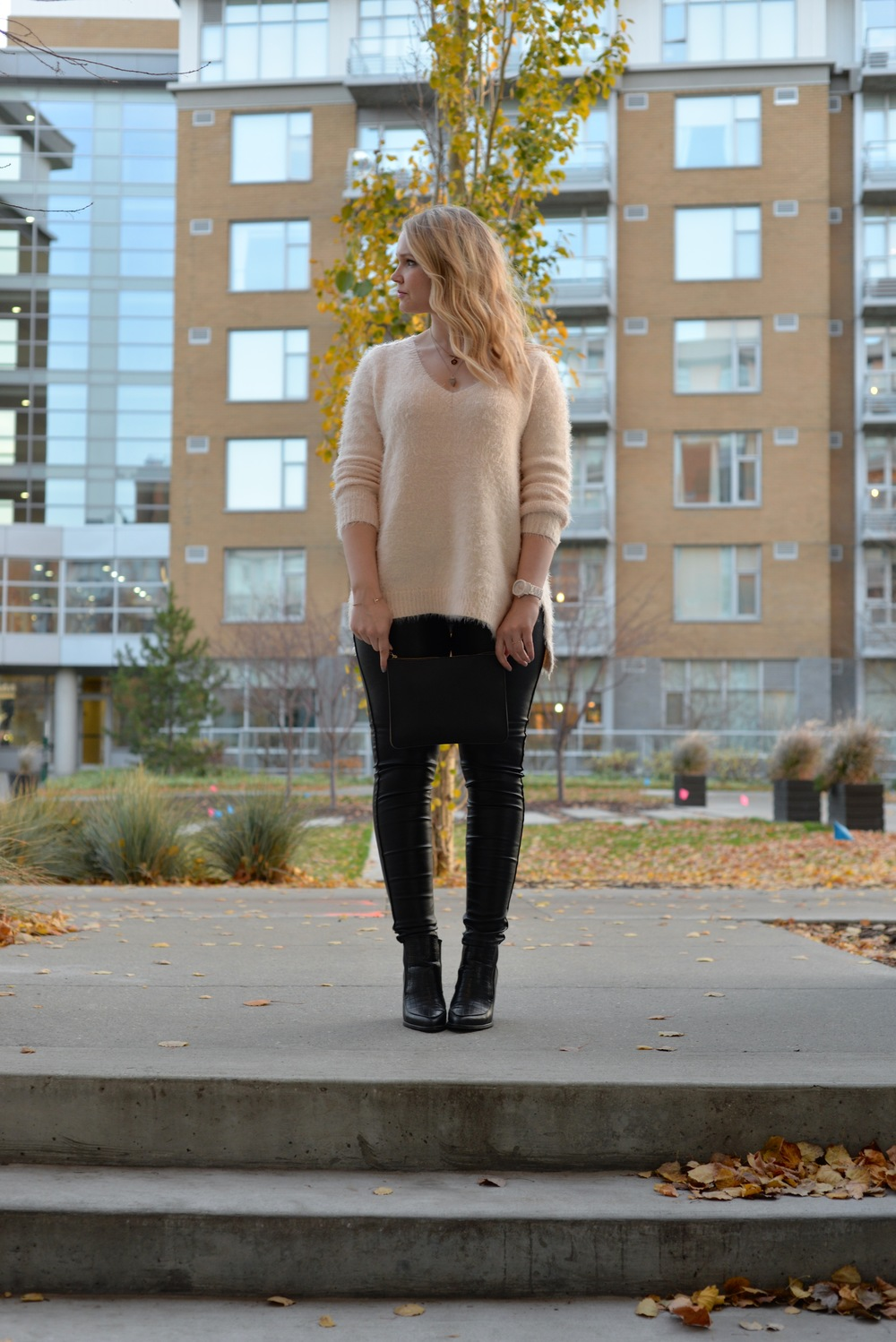 gentle fawn sweater