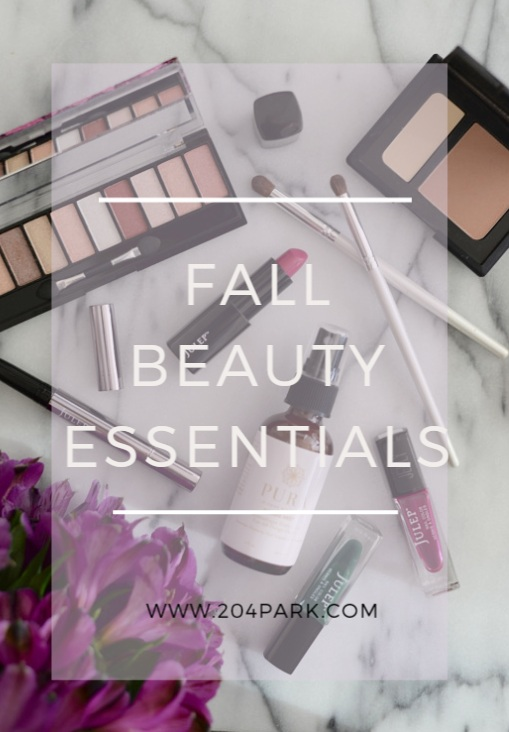 Fall Beauty Essentials