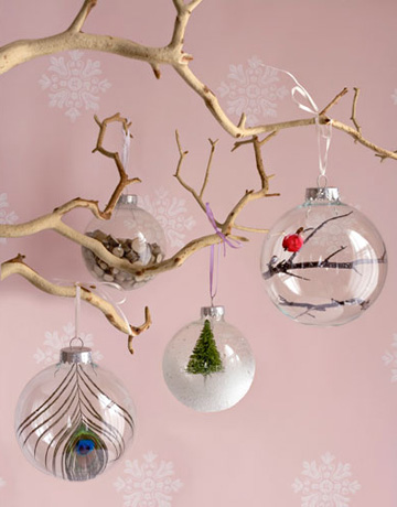 glass ornament DIY