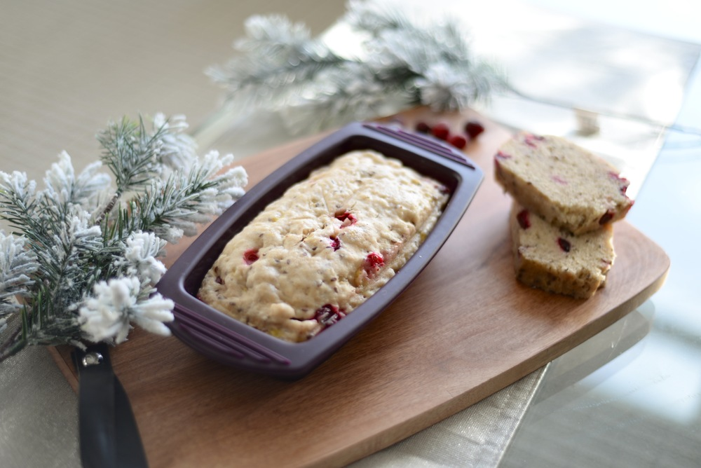 cranberry holiday loaf