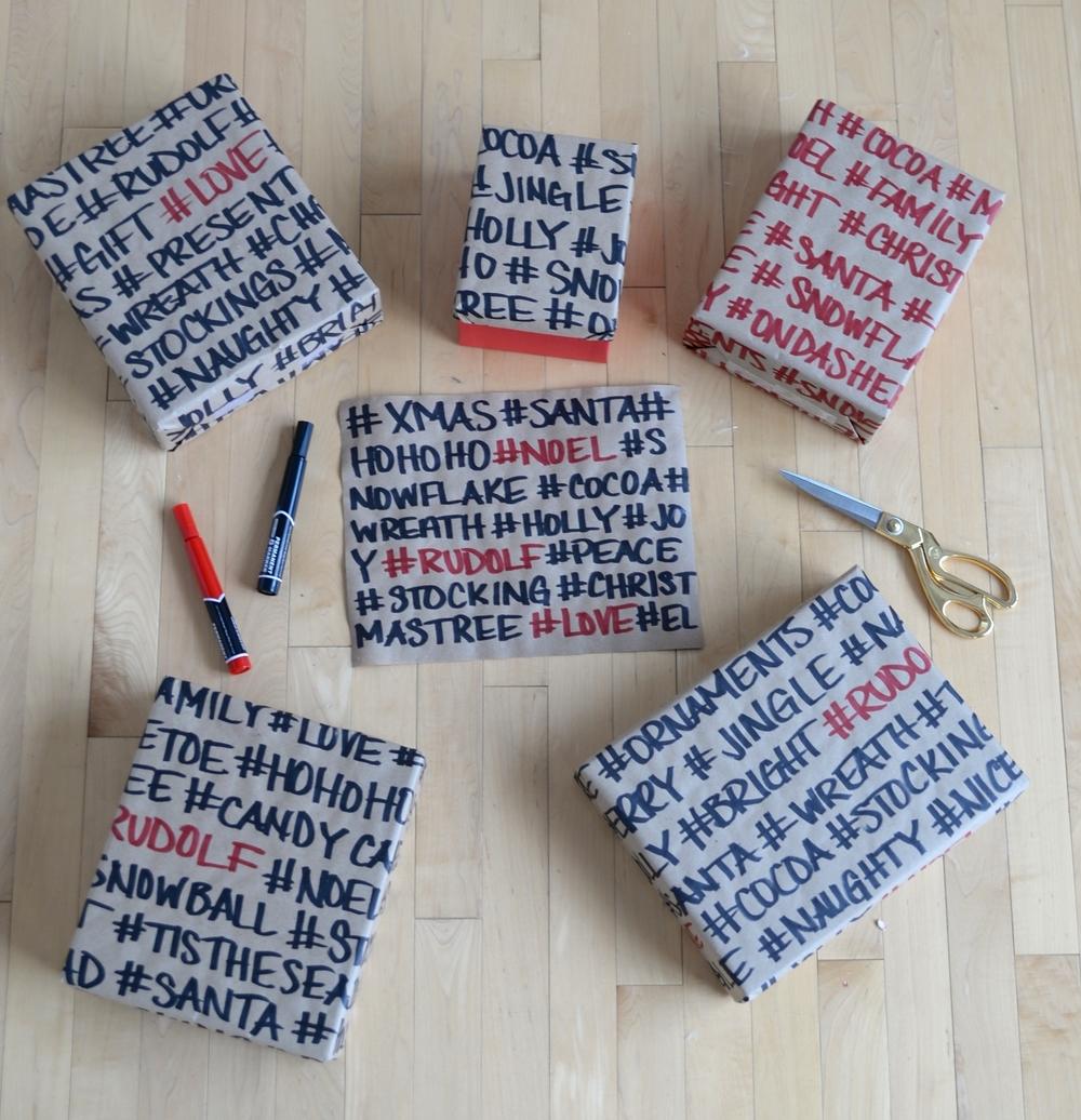 hashtag giftwrap