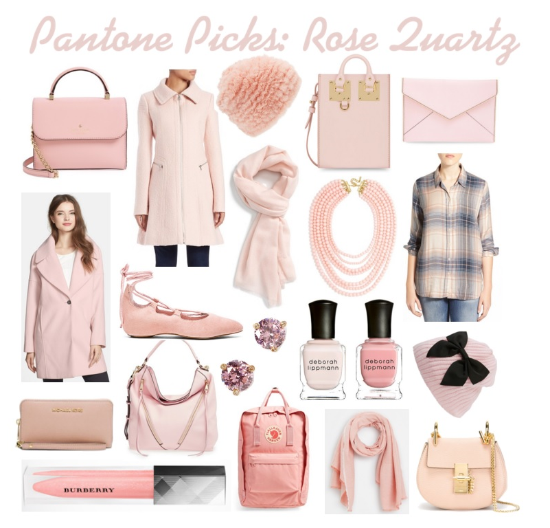 pantone rose quartz fashion