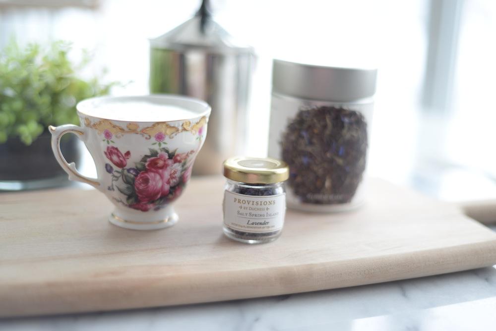 lavender earl grey tea misto
