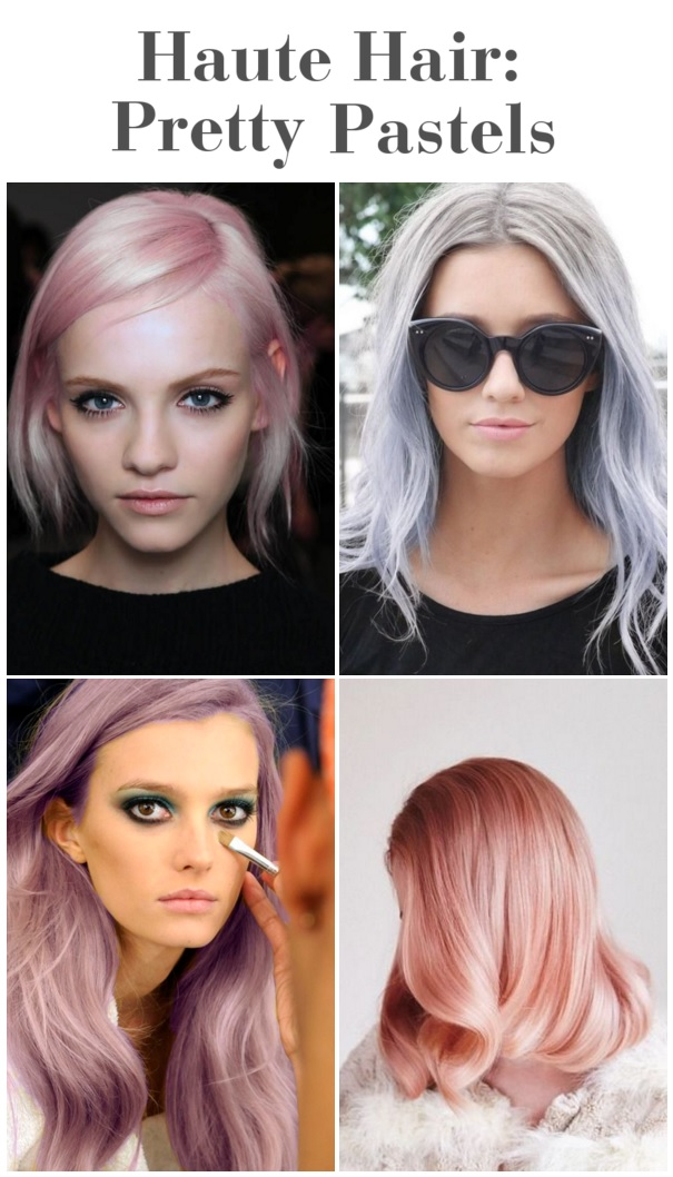 pretty pastel hair