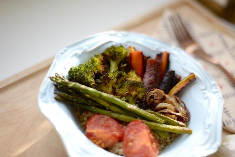grilled veggie nourish bowl
