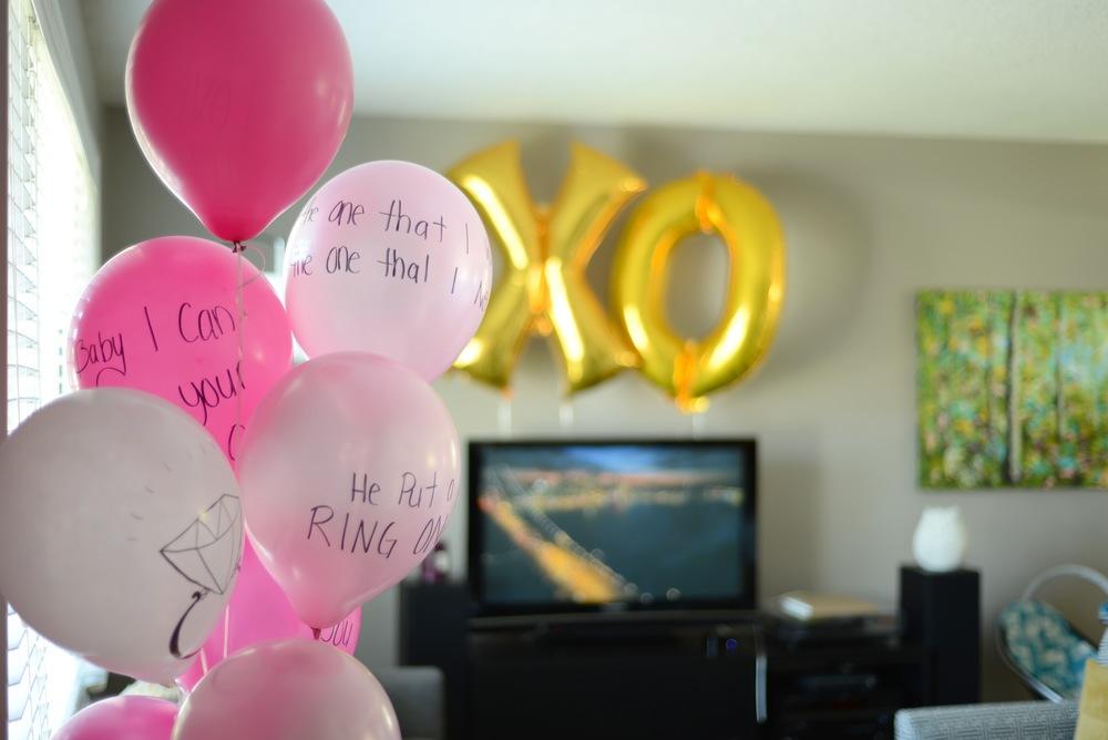 studio DIY balloons