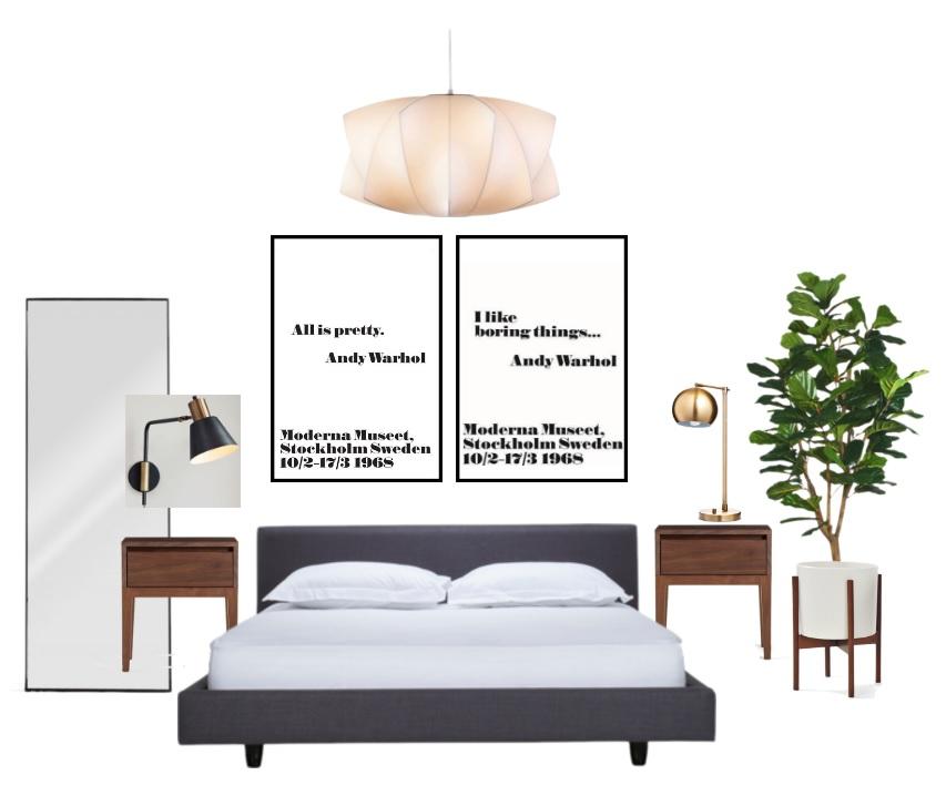 Mid Century Modern Bedroom