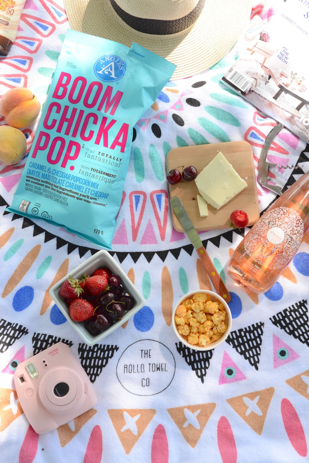 Stylish summer picnic