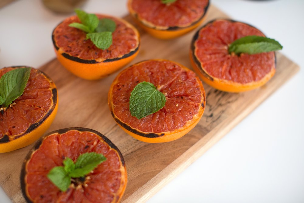 the best broiled grapefruit