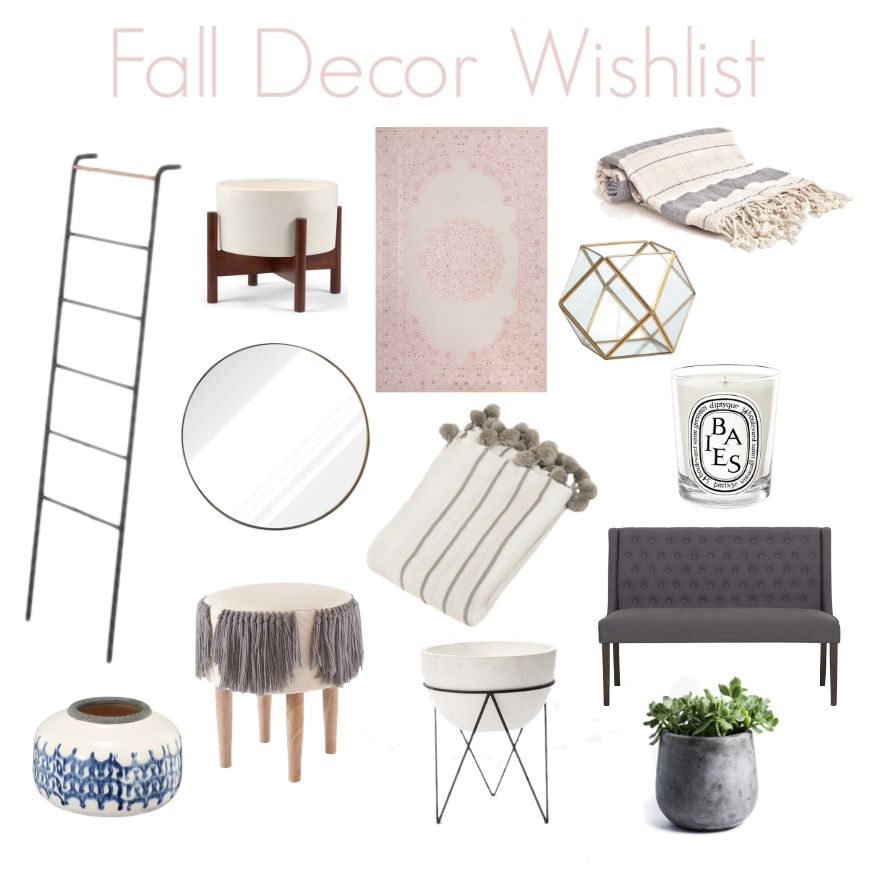 Fall Decor Wishlist