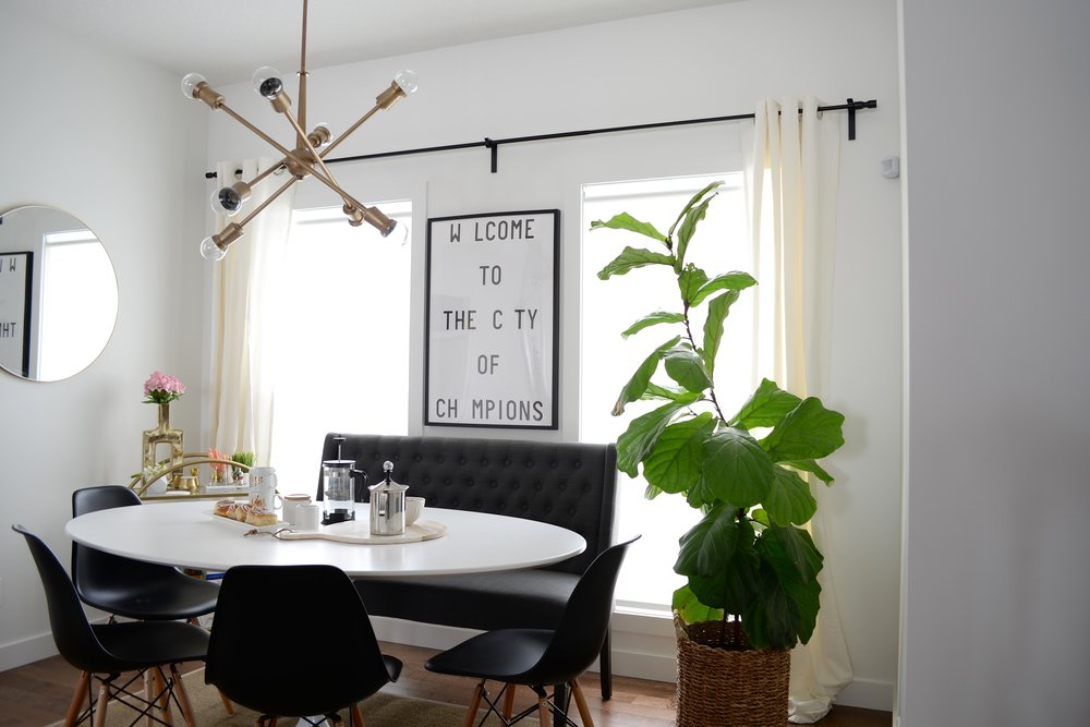 brass chandelier modern