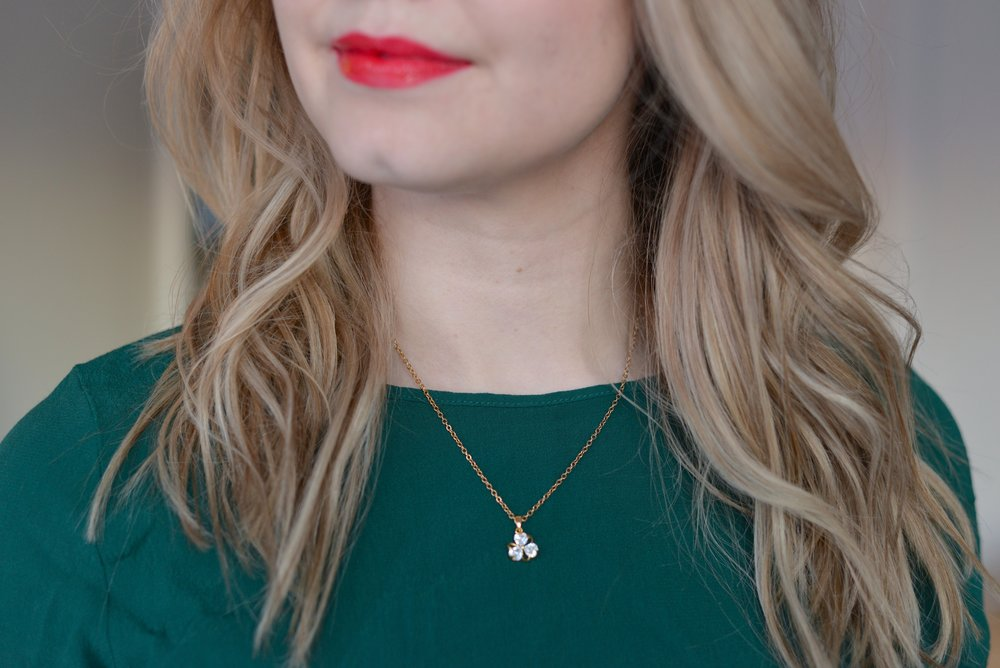 fifth avenue collection dainty necklace