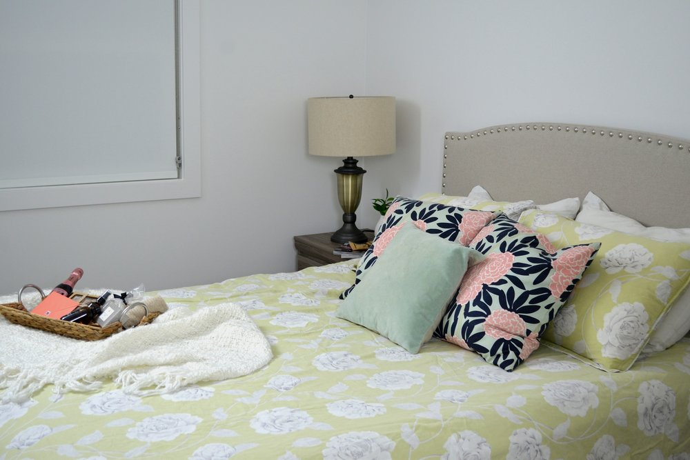 bright and cozy spare room