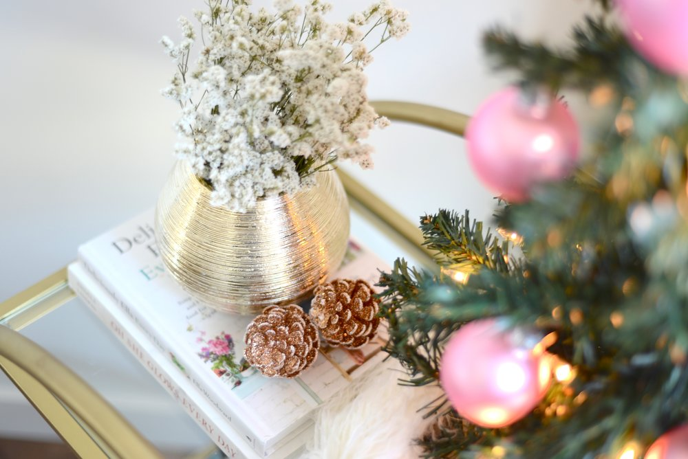girly holiday decor