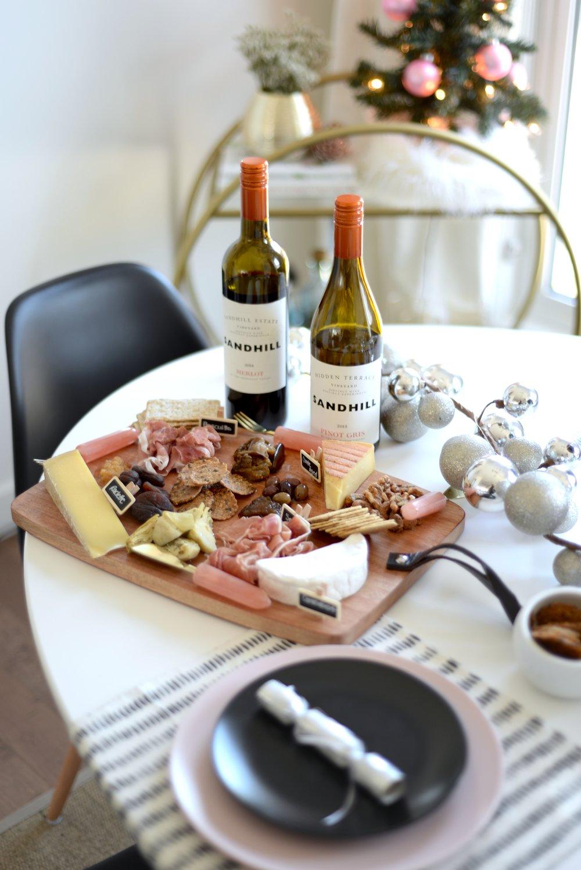 sandhill wines pairings