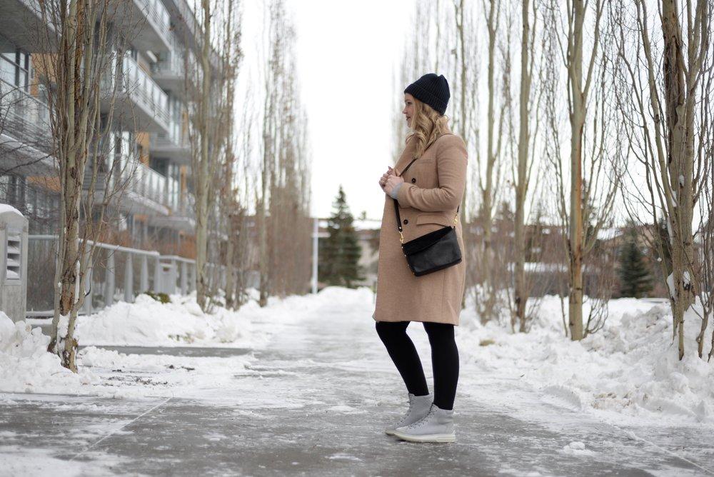 casual winter look