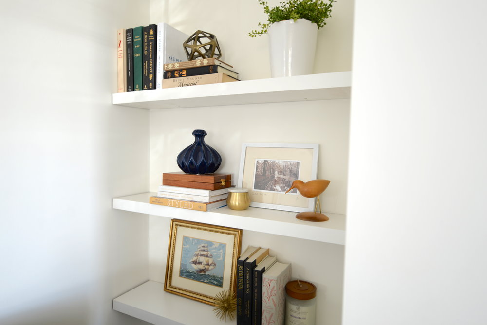 shelf styling 101