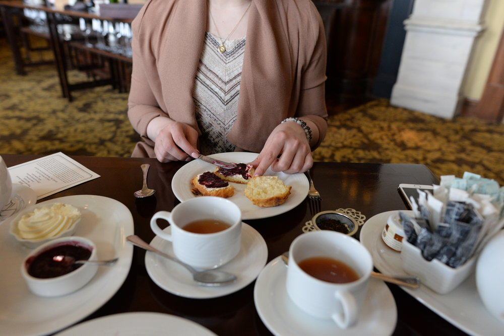 high tea edmonton
