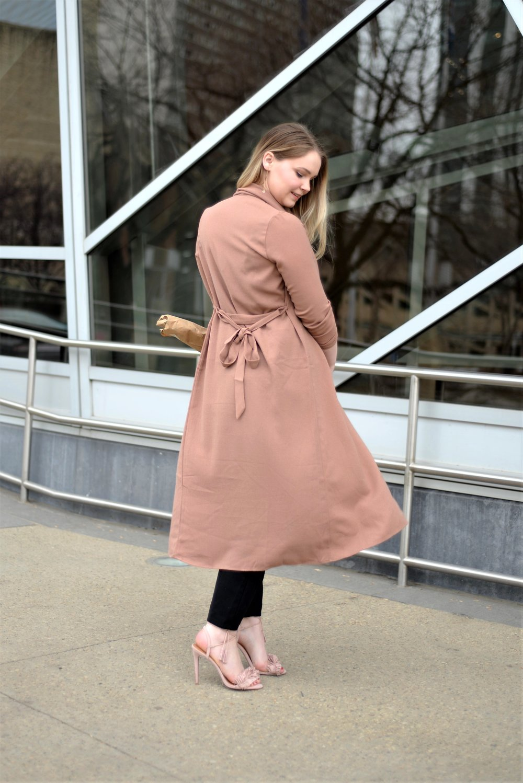 best blush long jacket