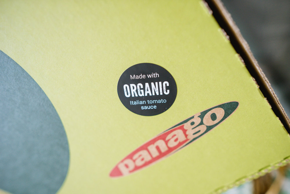 Panago Pizza Organic Ingredients