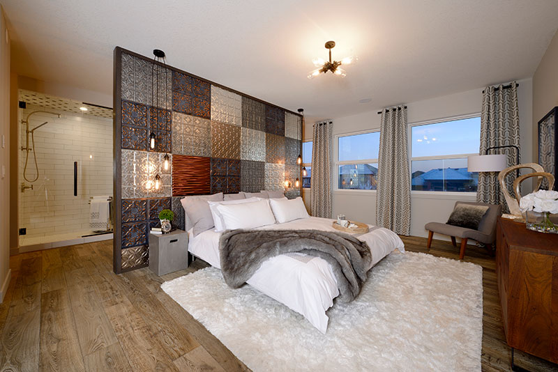 eclectic bedroom design