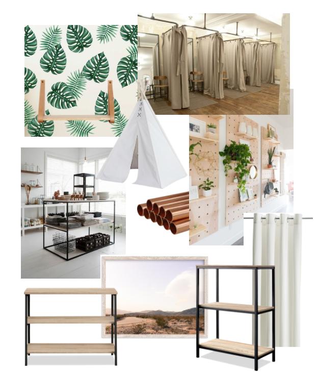 modern eclectic design plan