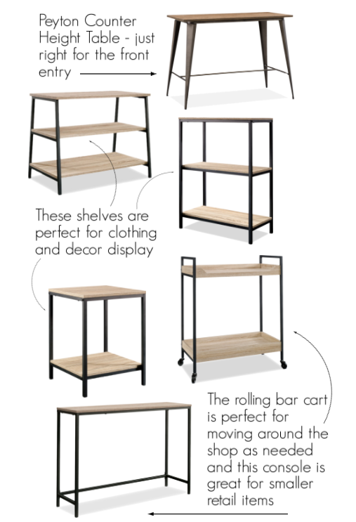 retail display furniture