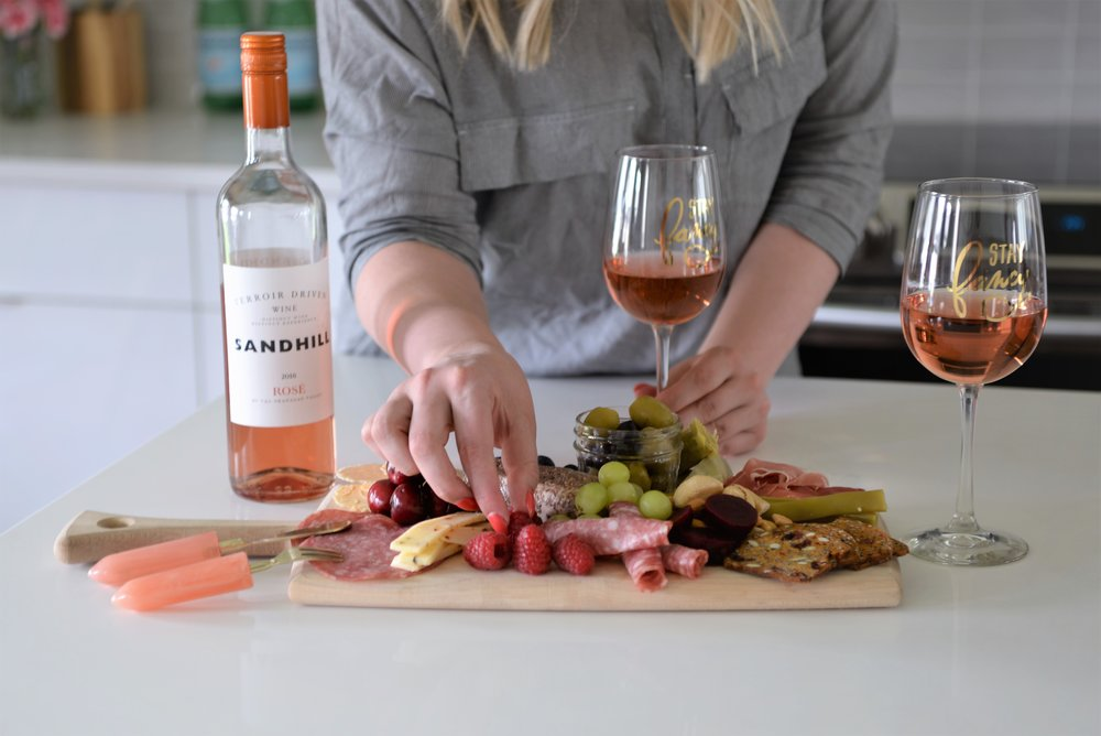 best food to pair with rosé wine