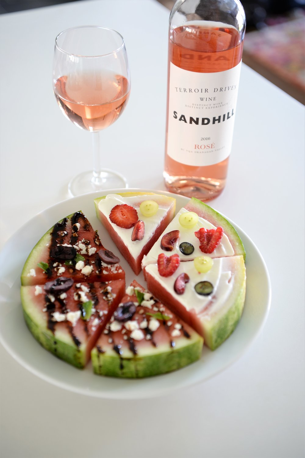 watermelon pizza recipes