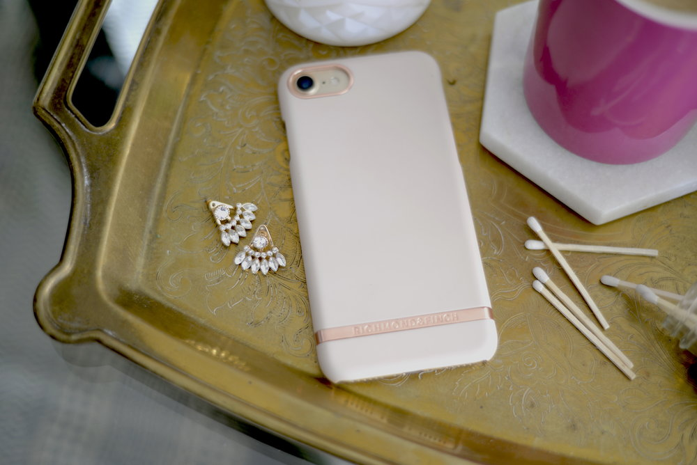 soft pink phone case