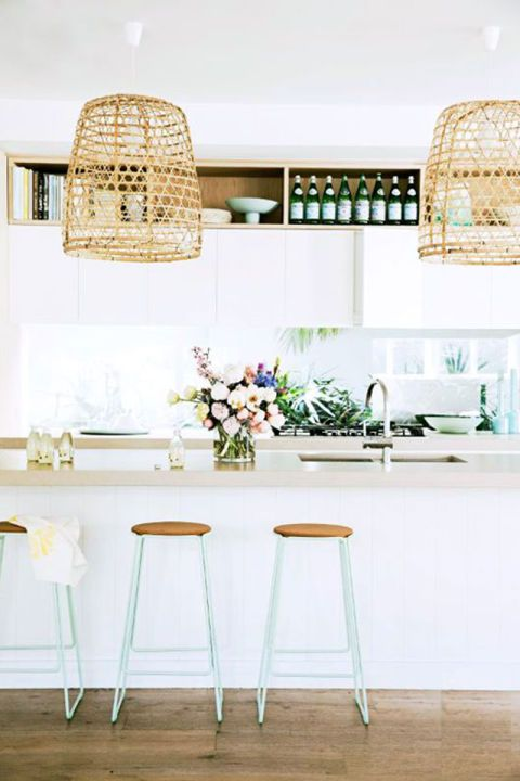 woven pendant lighting