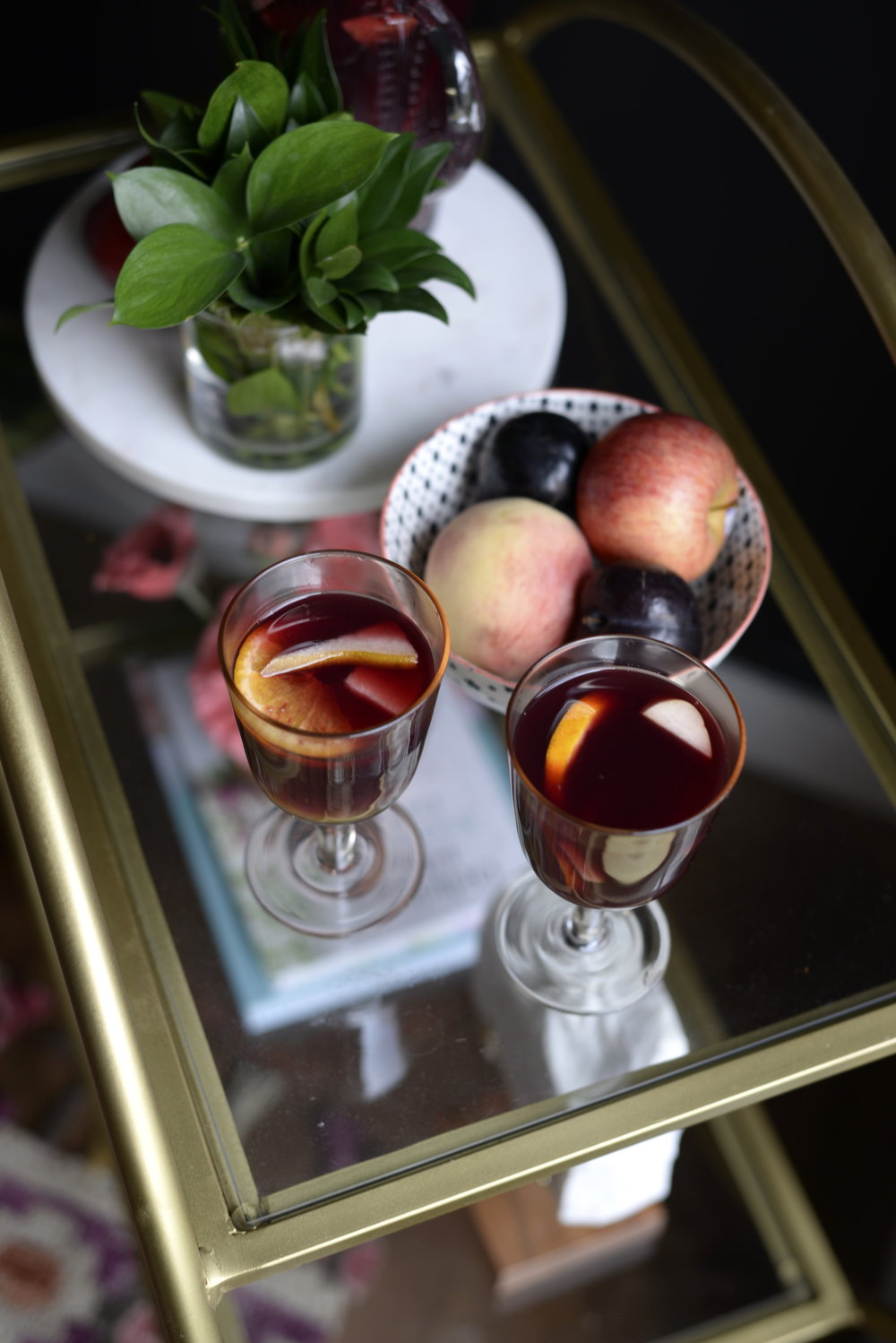 simple fall sangria