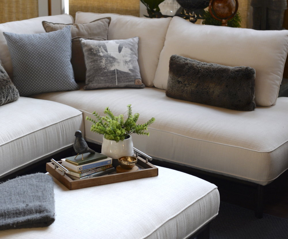 how to style a sectional