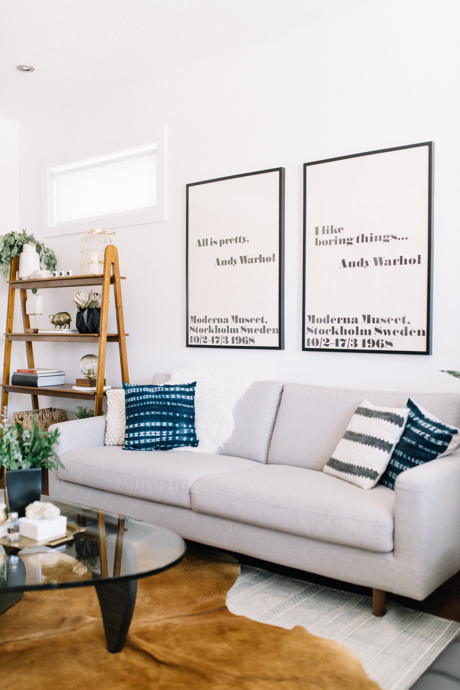 Our Mid-Century Modern Living Room Update — 204 PARK