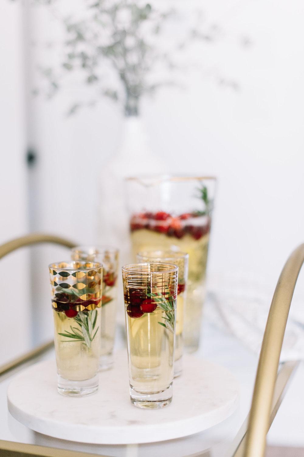 sparkling prosecco cocktail