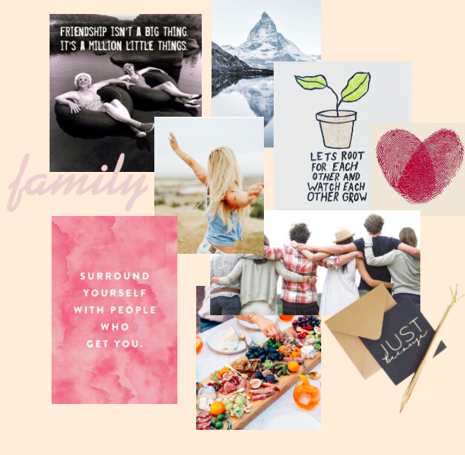 how to make an online vision board