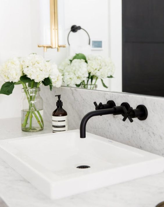 matte black bathroom hardware