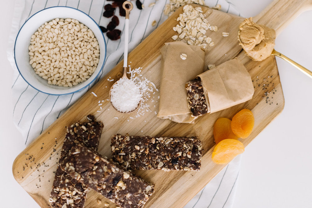 healthy no bake energy bars