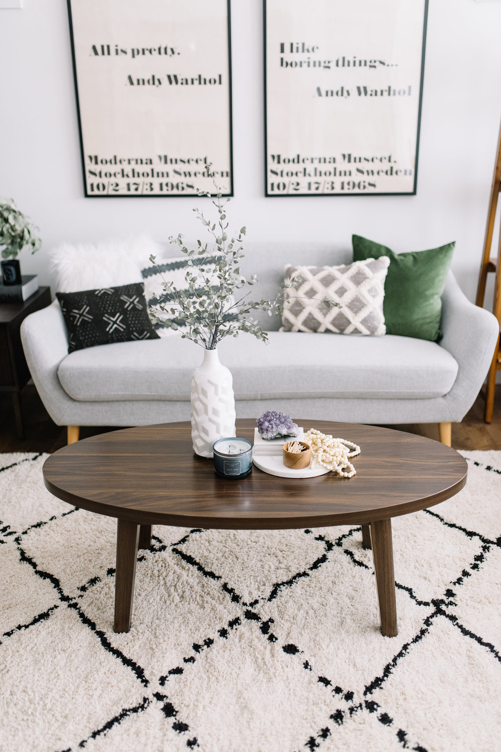 how to stye a coffee table
