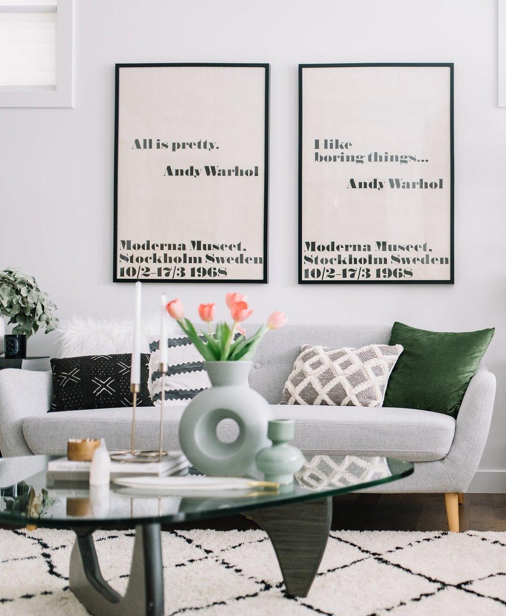 Mid-Century Modern Living Room Refresh — 204 PARK