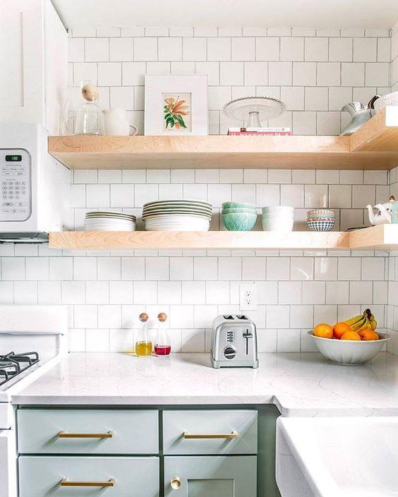 Design Crush: Square Kitchen Backsplash Tile — 204 PARK