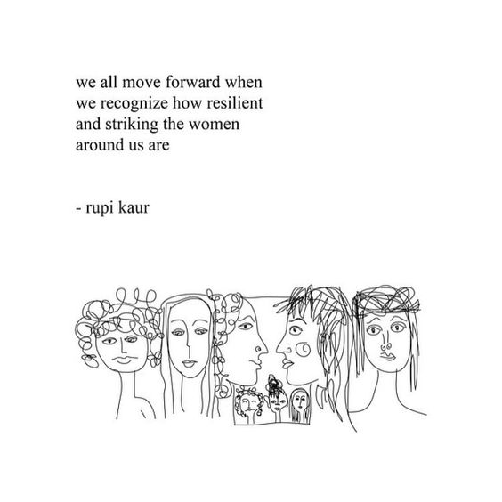 rupi kaur, women empowerment